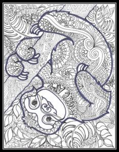 A Free Coloring Page for you!